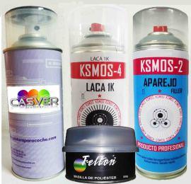 Kit spray para reparar la pintura de tu coche
